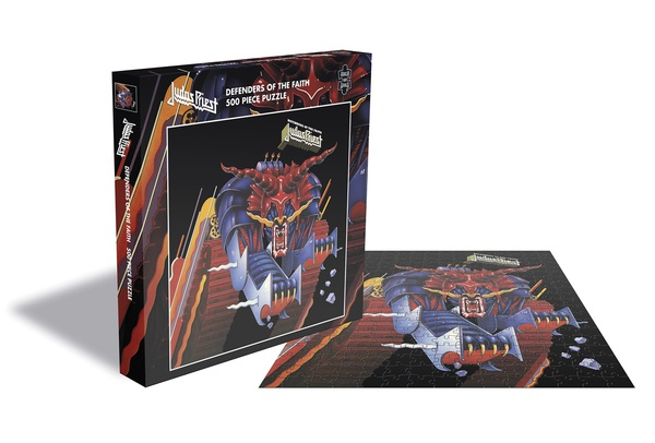Cover JUDAS PRIEST, defenders of the faith (500 piece jigsaw puzzle)