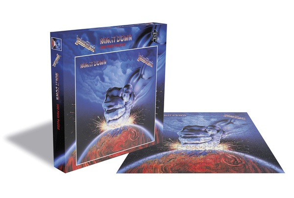 JUDAS PRIEST, ram it down (500 piece jigsaw puzzle) cover