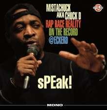CHUCK D, speak! rap race reality cover
