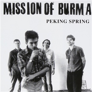 MISSION OF BURMA, peking spring (rsd 2019) cover