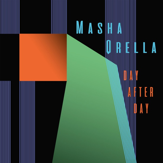 Cover MASHA QRELLA, day after day