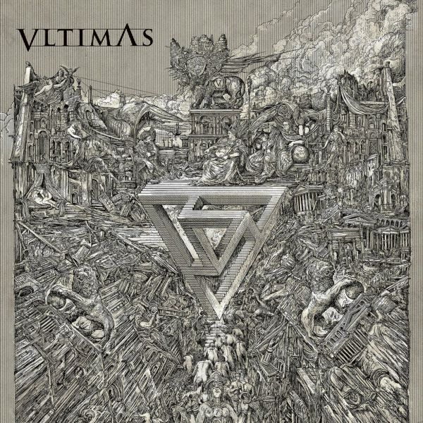 VLTIMAS, something wicked marches in cover