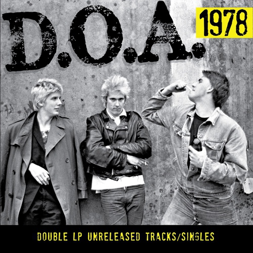 D.O.A., 1978 cover