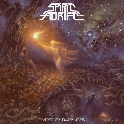 SPIRIT ADRIFT, divided by darkness cover