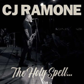 CJ RAMONE, the holy spell cover
