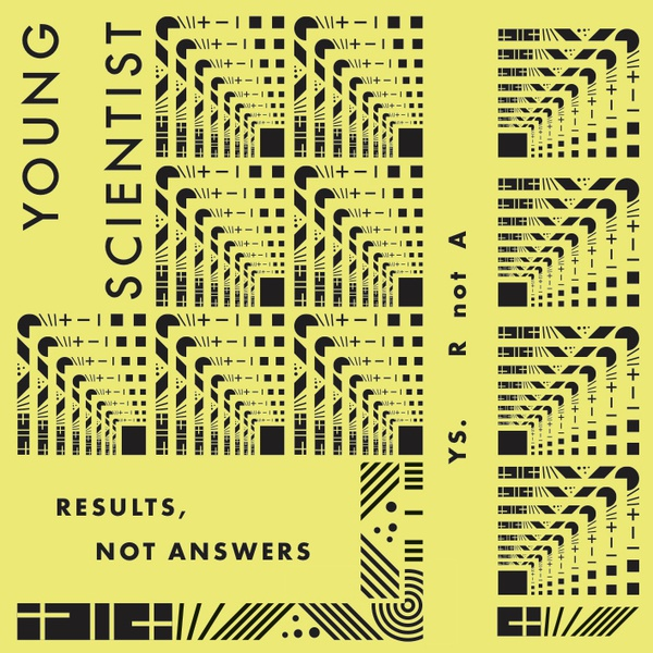 YOUNG SCIENTIST, results not answers cover