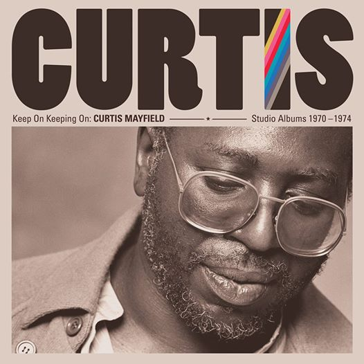 CURTIS MAYFIELD, keep on keepin´ on cover