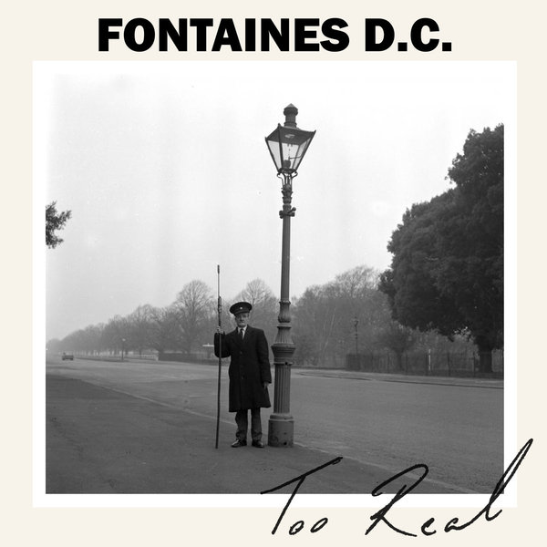Cover FONTAINES D.C., too real