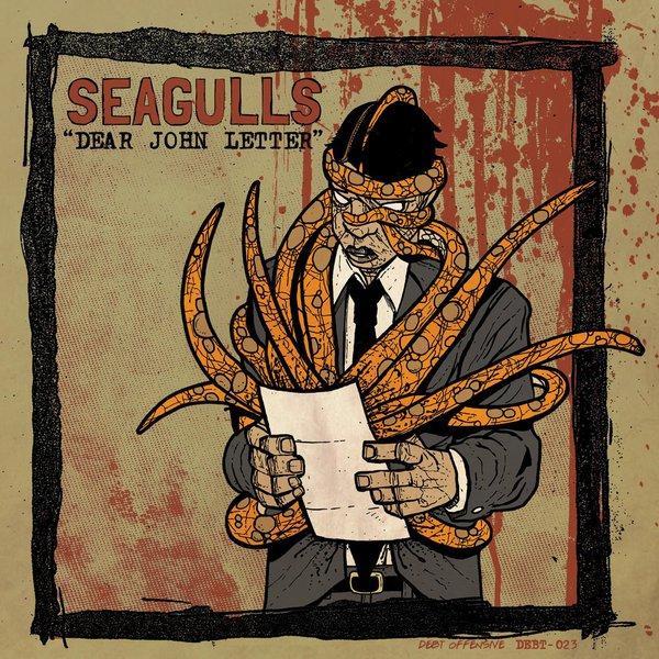 SEAGULLS, dear john letter cover