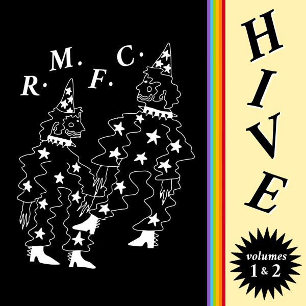 R.M.F.C., hive - volumes 1 & 2 cover