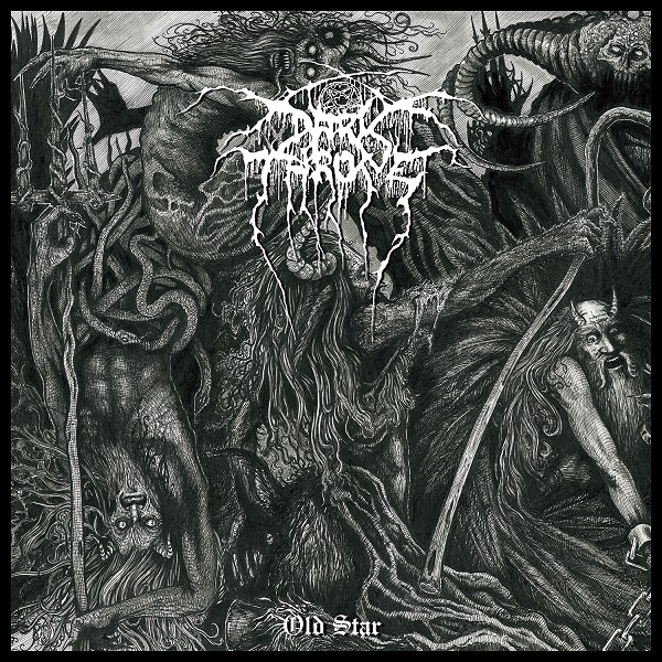 Cover DARKTHRONE, old star