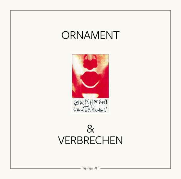 ORNAMENT & VERBRECHEN, tapetopia 001 cover