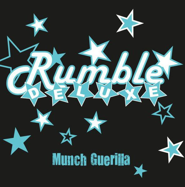 RUMBLE DELUXE, munch guerilla cover