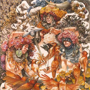 Cover BARONESS, gold & grey (indie-exclusive)