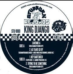 Cover KING DJANGO, avenue a