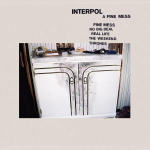 INTERPOL, a fine mess cover