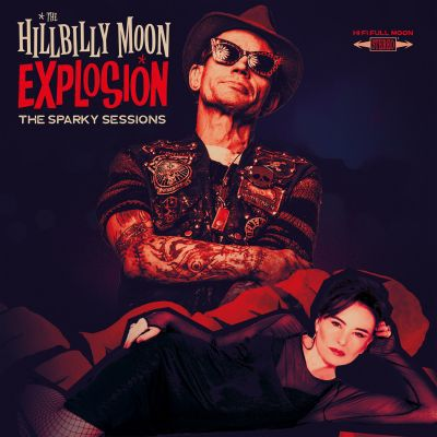 HILLBILLY MOON EXPLOSION, the sparky sessions cover