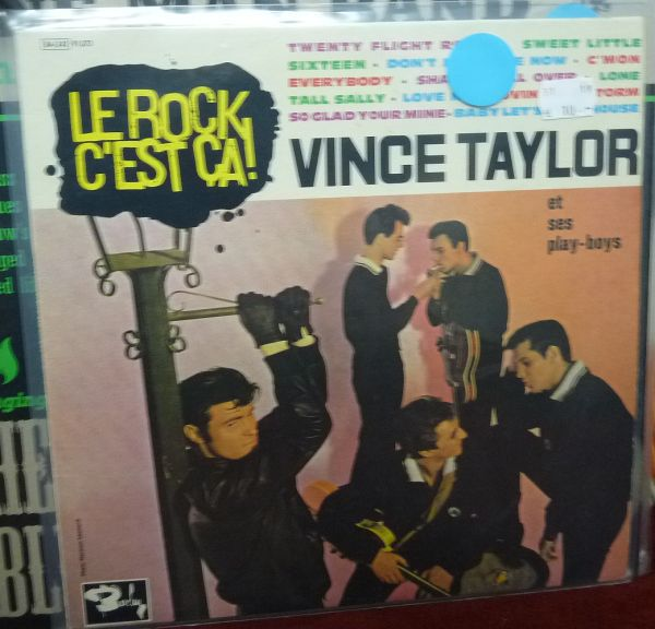 VINCE TAYLOR, le rock c´est ca (USED) cover