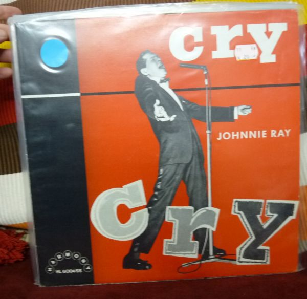 JOHNNIE RAY, cry (USED) cover