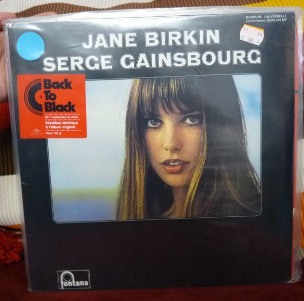 SERGE GAINSBOURG & JANE BIRKIN, s/t (USED) cover