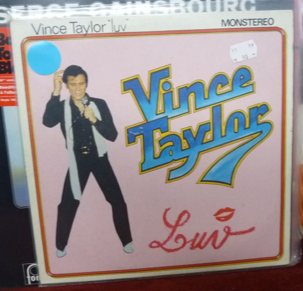 VINCE TAYLOR, luv (USED) cover
