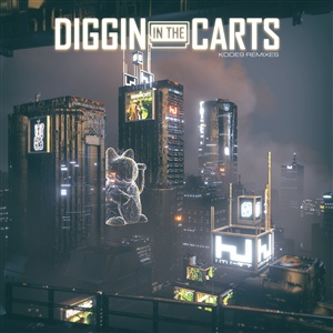 KODE 9, diggin in the carts remixes ep cover