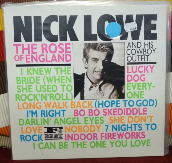 NICK LOWE AND HIS COWBOY OUTFIT, the rose of england (USED) cover