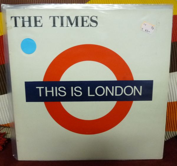 THE TIMES, this is london (USED) cover