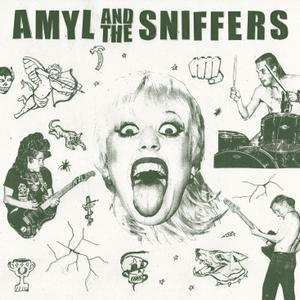 AMYL AND THE SNIFFERS, s/t cover
