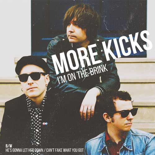 MORE KICKS, i´m on the brink ep cover