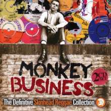 Cover V/A, monkey business - definitive skinhead reggae coll.