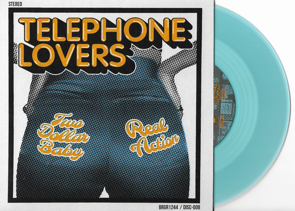 Cover TELEPHONE LOVERS, two dollar baby