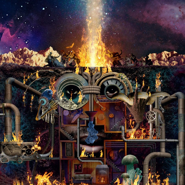 FLYING LOTUS, flamagra cover