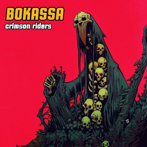 BOKASSA, crimson riders cover