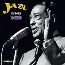 KALENDER, jazz history 2020 cover