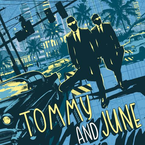 TOMMY AND JUNE, s/t cover