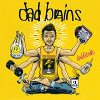 DAD BRAINS, dadditude cover