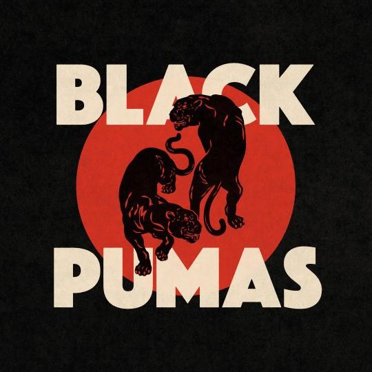 BLACK PUMAS, s/t cover