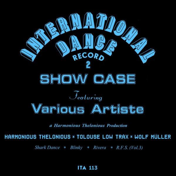 HARMONIOUS THELONIOUS, international dance record 2 cover