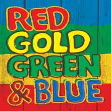 V/A, red gold green & blue cover