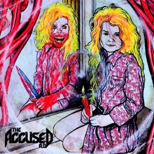 ACCUSED A.D., ghoul in the mirror cover
