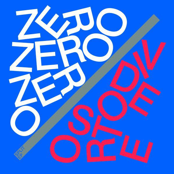 ZERO ZERO ZERO / VIDEO STORE, split cover