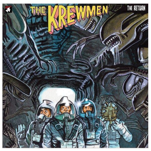 KREWMEN, the return cover