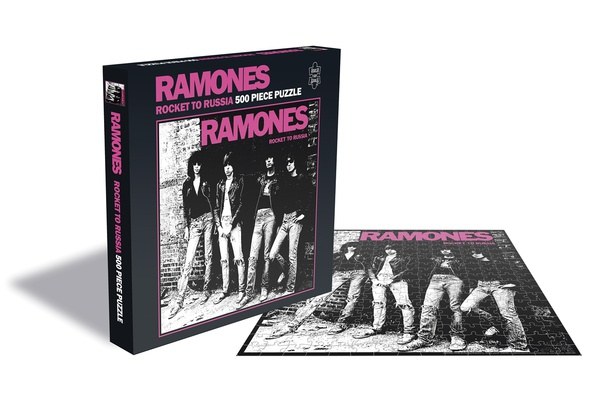 RAMONES, rocket to russia (500 piece jigsaw puzzle) cover
