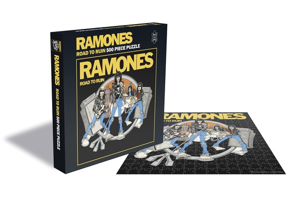 Cover RAMONES, road to ruin (500 piece jigsaw puzzle)