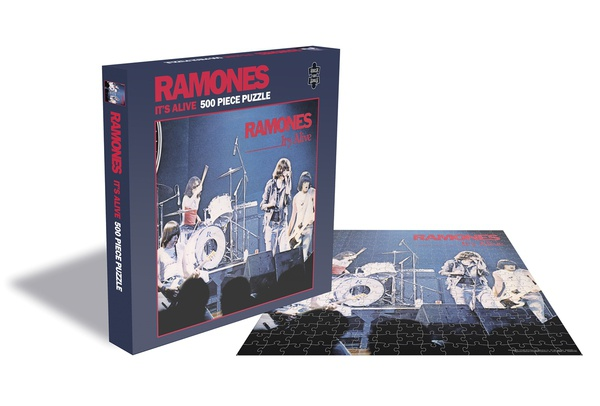 RAMONES, it´s alive (500 piece jigsaw puzzle) cover