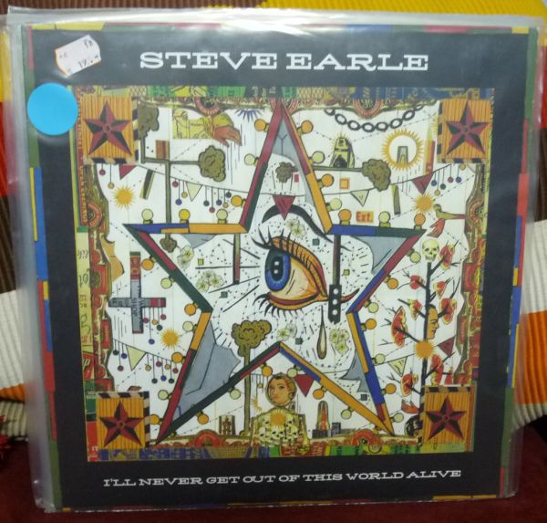 STEVE EARLE, i´ll never get out...(USED) cover