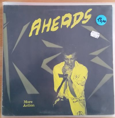 AHEADS, more action (USED) cover