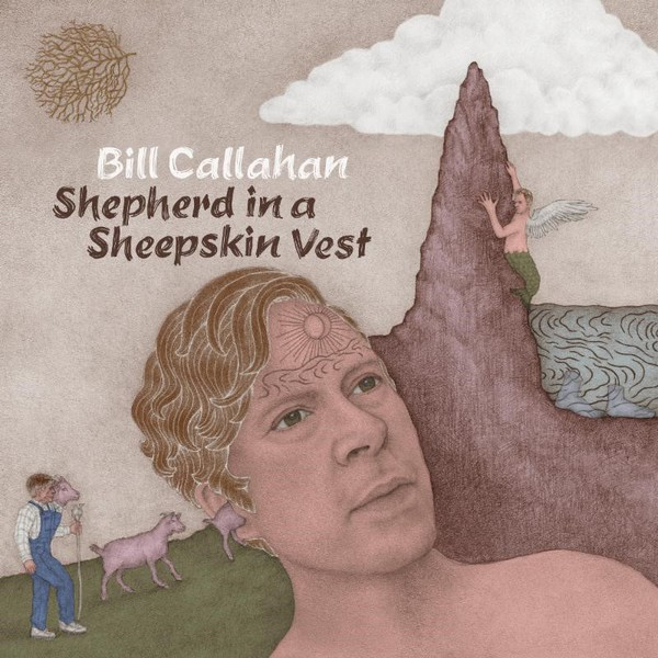 BILL CALLAHAN, shepherd in a sheepskin vest cover
