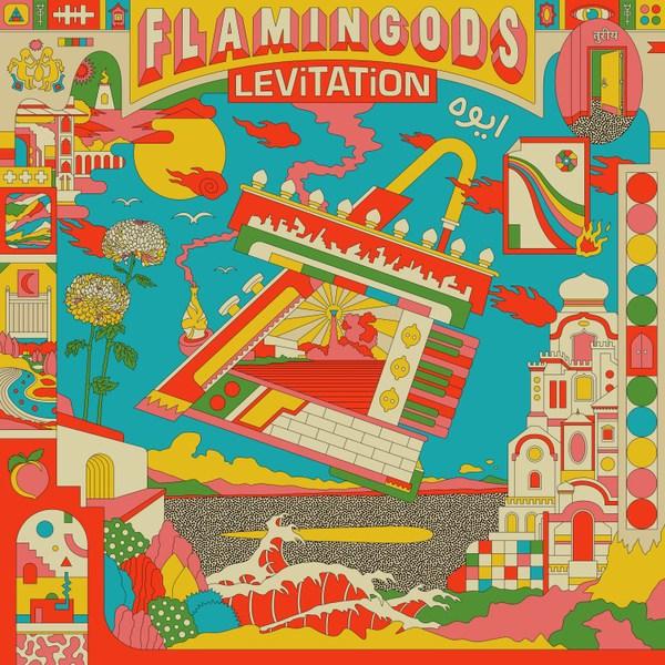 FLAMINGODS, levitation cover